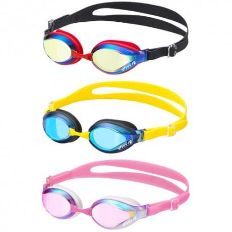 IV760JASAM 日本 View Swipe 6-12歲10倍防霧鏡面小童泳鏡 雙後帶 日本製 Junior Swimming Goggles