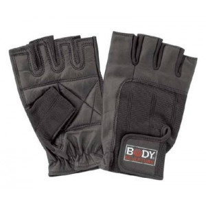 NBSX85N Body Sculpture 仿皮健身半指手套 S~XL碼 Gym Gloves
