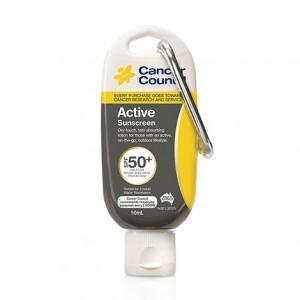 ACSE050AC50P 澳洲製 Cancer Council Active SPF 50+ 無油清爽防曬 50ml