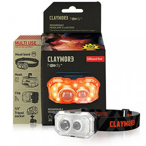 PCLC-470 韓國 Claymore Heady+DR 600流明頭燈 Rechargeable Headlamp