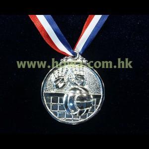 型號:HY003S 50mm直徑排球獎牌